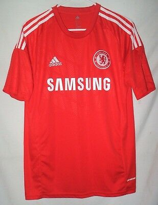 the latest 39907 79e40 ADIDAS CLIMACOOL CHELSEA Football Club Red Jersey Size M Samsung Soccer