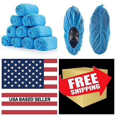 120 Pack - 60 PAIRS  Premium Thick Extra Large Disposable Shoe Covers