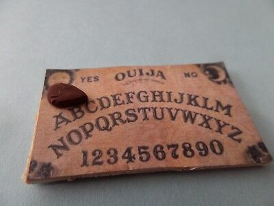 Ouija Board -  For Your witch  Halloween Dollhouse Miniature1:12