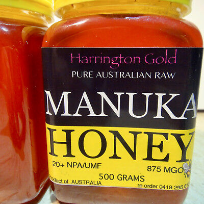 20+ MANUKA HONEY 500g MGO 875+High Antibacterial AUSTRALIAN PRODUCT 麦卢卡蜂蜜