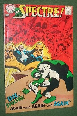 The Spectre! #2 DC Comics Silver Age Neal Adams cover and art vg/f