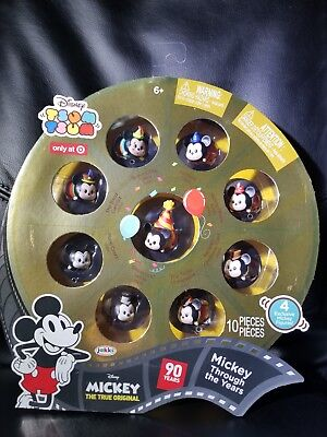 Disney Mickey Mouse 90th Anniversary Tsum Tsum Set Of 9 Target Exclusive