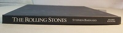 Vintage Book The Rolling Stones By Stephen Barnard Studio Editions   75A