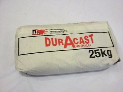 Duracast refractory 25 kg kiln furnace supplies