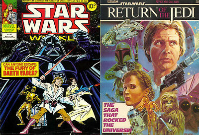 Star Wars Weekly + Return Of The Jedi - All 313 Comics + Specials On Dvd 1978-86