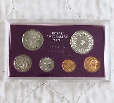 AUSTRALIA 1977 6 COIN SILVER JUBILEE PROOF YEAR SET - sealed