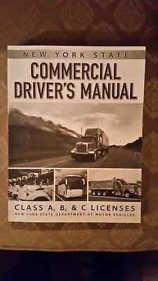 New york state commercial driver's manual class a, b & c licenses.