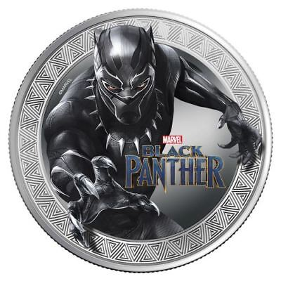 2018 Marvel Black Panther 1oz Silver Proof Coin