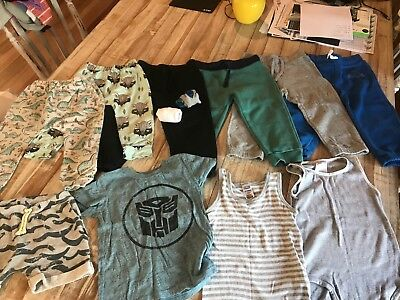 Size 2 Boys bulk lot clothing - Bonds, Cotton On, Tilt, more - 10 pieces