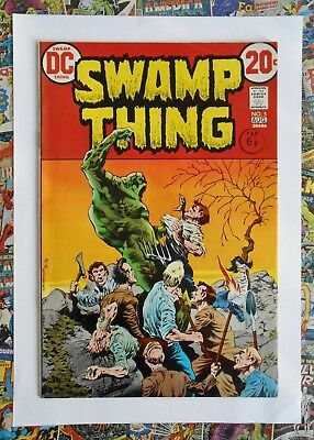 Swamp Thing #5 - Aug 1973 - Classic Bernie Wrightson! - Vfn/Nm (9.0) Cents Copy!