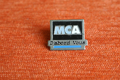 06454 Pin's Pins Mca D'abord Vous Tele Tv ?