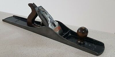 Vintage Stanley Bailey no.7 Wood Plane made in England with 560mm Base