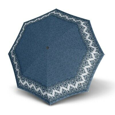Umbrella by Knirps - T.200 Duomatic Marlene Blue