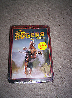"""Roy Rogers 2 DVD disk set """"King of the Cowboys"""" New"""