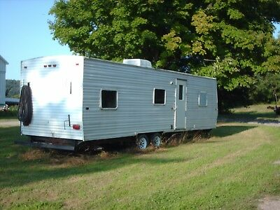 8 FT.X28 F 2006 gulf stream Sales Office/ Construction/ Job-Site Trailer