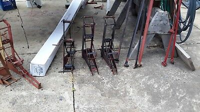 Lot Of 6 American Manufacturing  Pump Jacks  With Roof Brackets