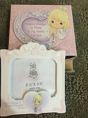 """Precious Moments Photo Frame """"Theres Always a Place in my Heart for you"""" 111769"""