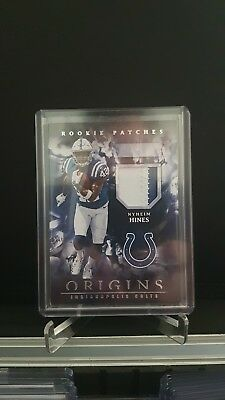 Nyheim Hines Origins Rookie Patch Trading Card