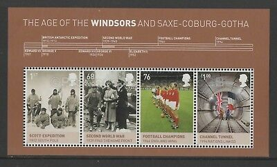 Gb Qeii Mnh Stamp Miniature Sheet House Of Windsor 2012 Sg Ms3270 10% Off Any 5+