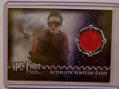 Harry Potter-Daniel Radcliffe-POA-Update-Movie-AUTHENTIC-Costume Card