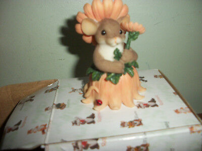 Adorable Charming Tails Figurine By Fitz & Floyd Your Beauty Brightens My Day