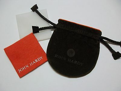 John Hardy Jewelry pouch with polishing cloth