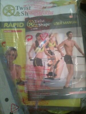 NEW Twist and Shape Exercise machine Stepper Fitness -still in box collect m'bro