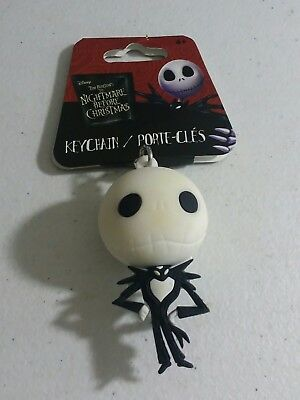 Nightmare Before Christmas - Keychain - Backpack Clip JACK NEW