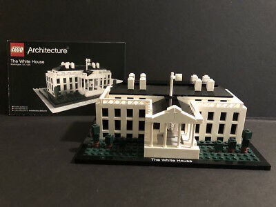 Retired Lego Architecture White House 21006 Instructions Book No