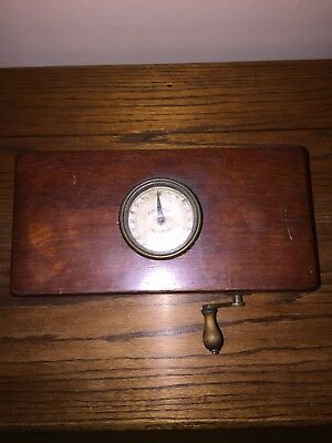 Antique Victorian Magneto-Electric Shock Machine For Nervous + Other Diseases
