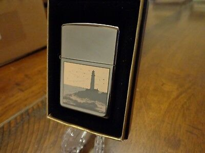 Lighthouse View Zippo Lighter Mint In Box 2002