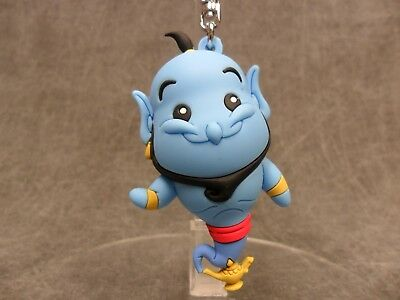 Disney Aladdin * Genie Key Chain * Blind Bag Keychain Ring Movie Lamp Blue