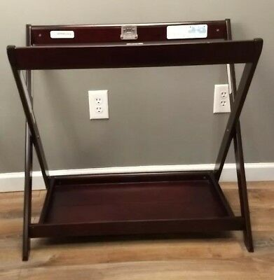 UPPAbaby Bassinet Stand Esspresso New, Open Brown Box Item