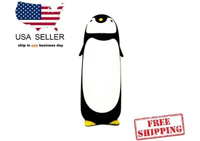 Penguin Animal Stainless Steel Thermos Vacuum Bottle Water Cup Travel Mug/Flask