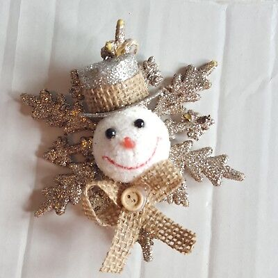 rustic cottage christmas ornaments 6 snowman ornaments country christmas
