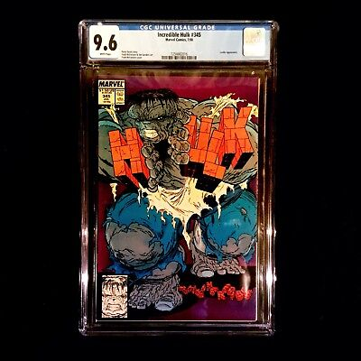 The Incredible Hulk 345 CGC (July, 1988, Marvel) Todd McFarlane Art