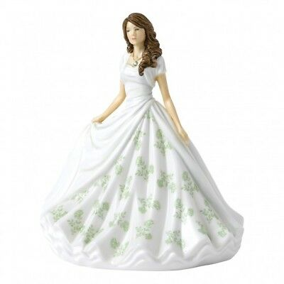 Royal Doulton Birthstone Petites Figurine of the Month - August Peridot