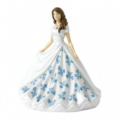 Royal Doulton Birthstone Petites Figurine of the Month - September Sapphire