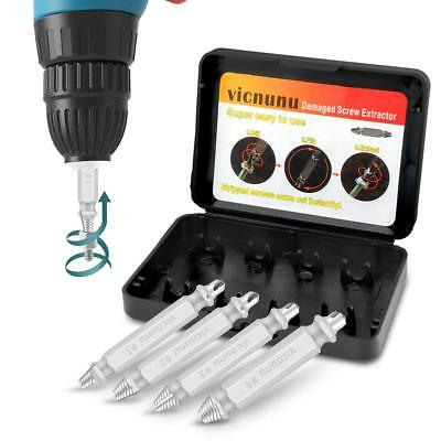 Damaged Screw Extractor and Remover Set by Vicnunu, Stripped Screws and Damaged