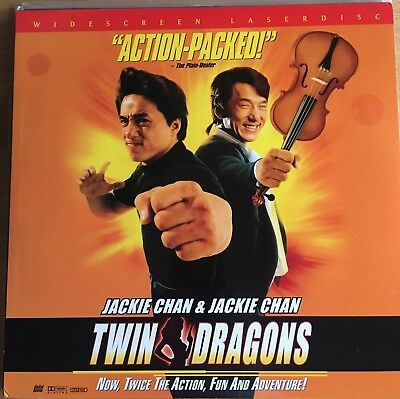 Laserdisc Jackie Chans Twin Dragons. Late 1999 release