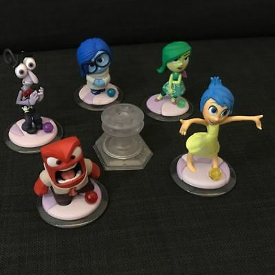 Disney Infinity 3.0 Inside Out Lot Complete Set Of Figures & Playset