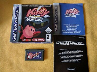 EST - Jeux GBA Kirby-Nightmare-in-dream-land-Gameboy-Advance