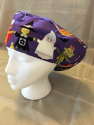 Halloween Small Medical Bouffant OR Scrub Cap Surgical Surgery Chemo Hat