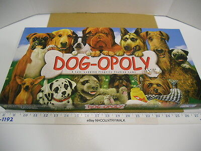 Westie Opolya Tail Wagging Property Trading Board Game Late For