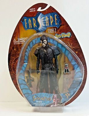 Farscape Scorpius The Hunter Toy Vault Action Figure Series 2 2001 NICE