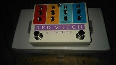 red witch synthotron synth guitar pedal