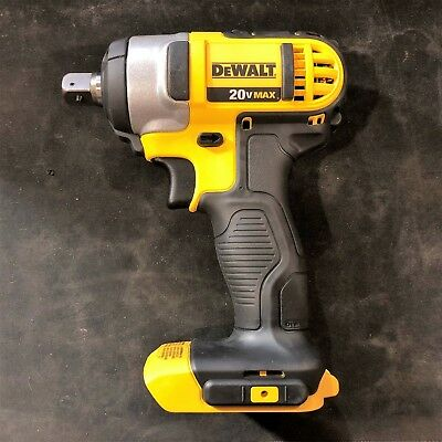 """DEWALT DCF880B 20-Volt Li-Ion 1/2"""" Impact Wrench With Detent Pin (Tool Only) NEW"""