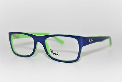 736f3fcfea New Authentic Ray-Ban Rb 5268 5182 Blue Green Frames Eyeglasses 48Mm Rb5268  Rx