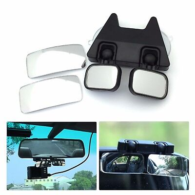 MINI DUAL SIDE MIRROR for Blind Spot of Dash Cam, Rearview Mirror, Side Mirror