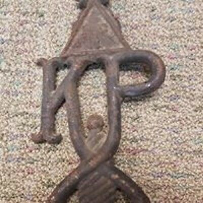 Possible Knights of Pythias Vintage Antique Grave Marker